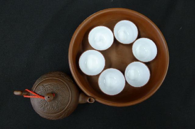 中国茶器セットの画像