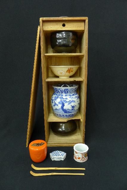 茶道具8点セットの画像