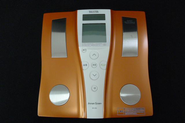 TANITAの体重計の画像