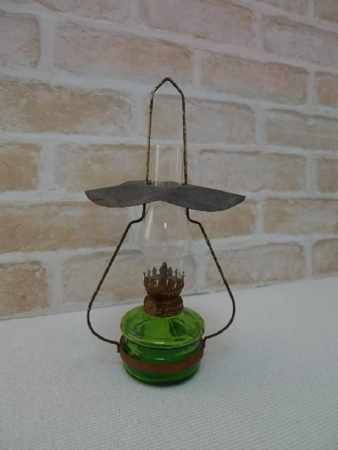 アウトドア用オイルランプの画像