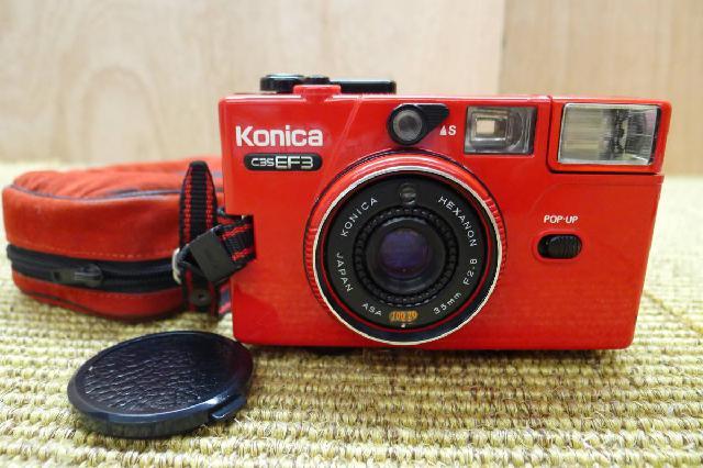 コニカのコンパクトカメラの画像