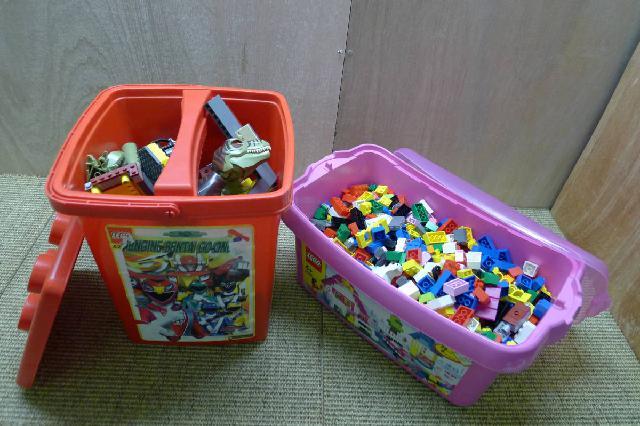 レゴバケツセットの画像