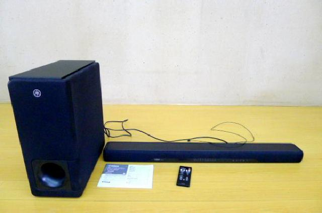 ヤマハのフロントサラウンドシステムの画像