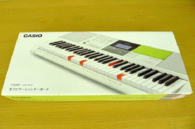 CASIOの電子キーボードの画像