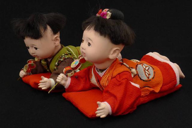 はいはい市松人形の画像