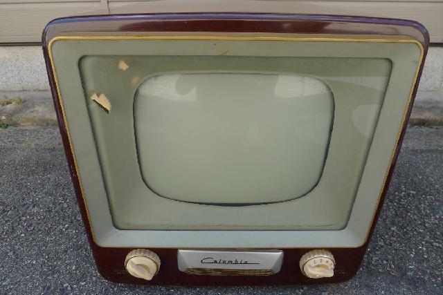 Columbia-真空管アンティークテレビの画像