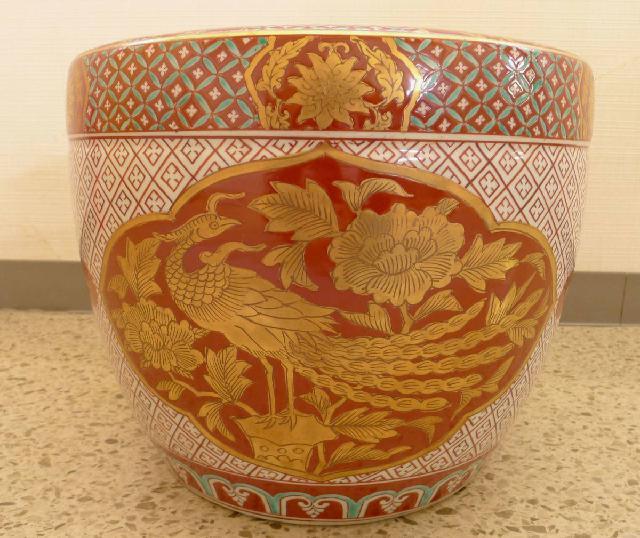 九谷焼の火鉢