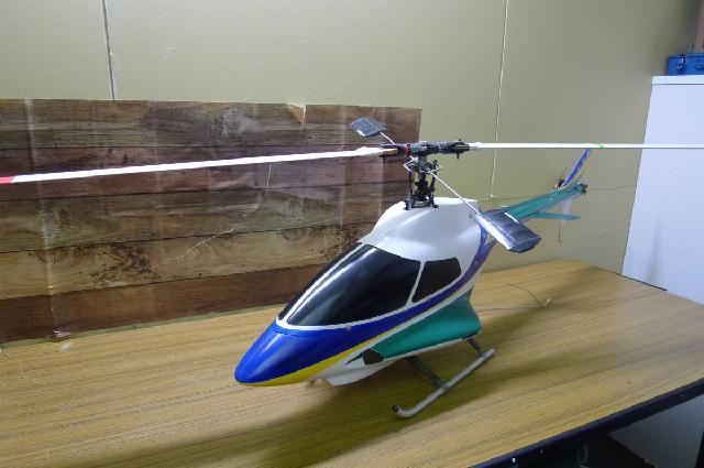 ヒロボーのラジコンヘリコプター