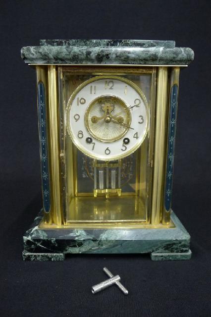ゼンマイ置時計
